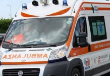 Ambulanza su incidente