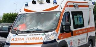 Ambulanza su incidente