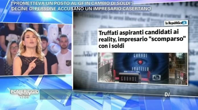 Alessia Marcuzzi a Verissimo: