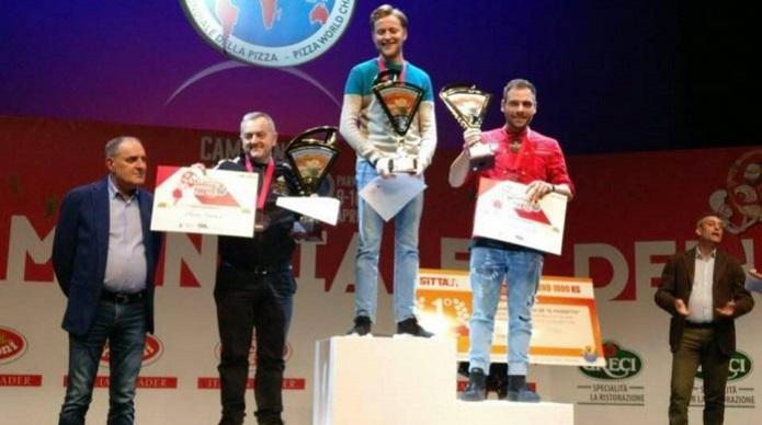 I veneti Stefano Miozzo e Mirko Boniolo campioni mondiali della pizza