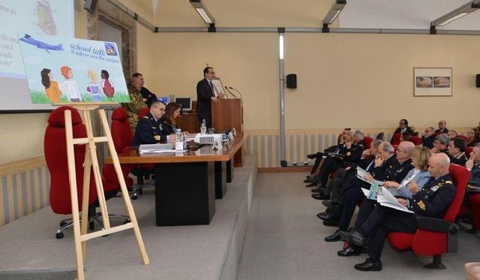 """[Caserta] Si conclude """"School Talk"""", progetto realizzato grazie alla Scuola Specialisti Aeronautica Militare di Caserta"""