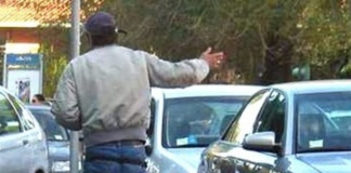 Contrasto ai parcheggiatori abusivi