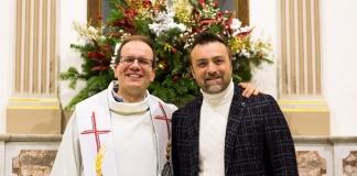 Il Pastore Evangelico John Tufaro ospite di Don Mariano Signore