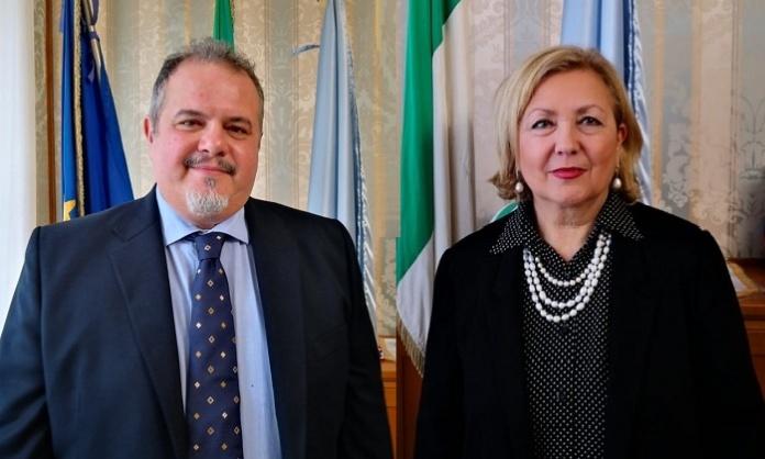 Raffaele Piazza e Lucia Monaco