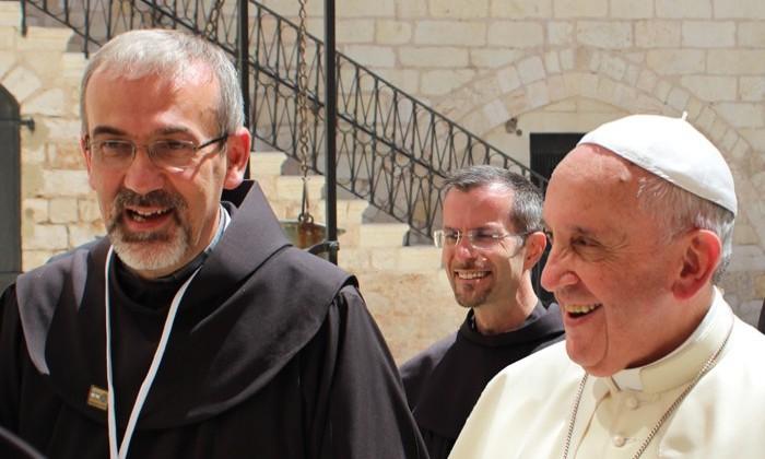 Lectio Magistralis del Patriarca di Gerusalemme, Pierbattista Pizzaballa  all'Università della Campania Luigi Vanvitelli |