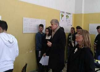 Preside Luigi Suppa alla Building a Thinking Mathematical Classroom