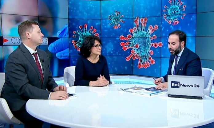 Annamaria Rufino a RaiNews24