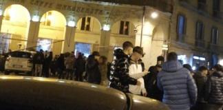 Incidente piazza Margherita Caserta