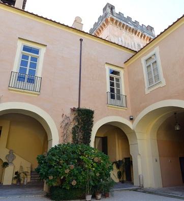 Villa Porfidia interno
