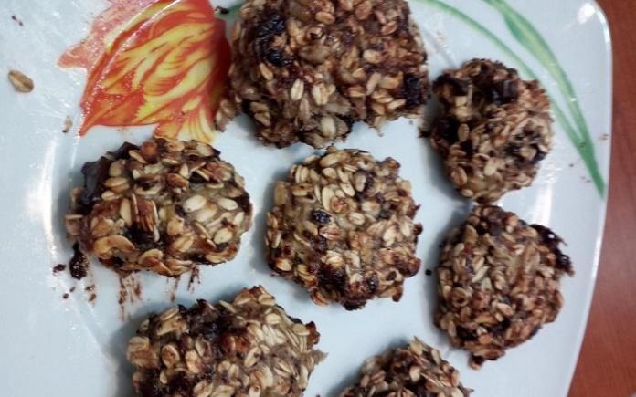 Biscotti di fiocchi di avena