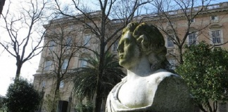 Busto di Goethe a Caserta