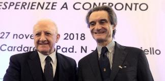 Vincezo De Luca e Attilio Fontana