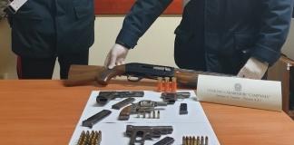Carabinieri scovano un arsenale di armi clandestine