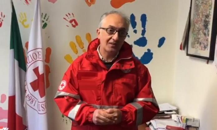 Sindaco Carlo Marino Croce Rossa