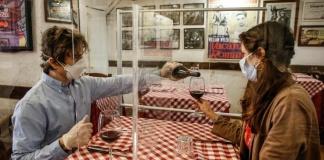 Al ristorante al tempo del Covid