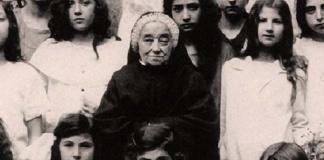 Giula Salzano in una rara foto d'epoca