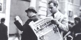 80 anni fa in l'Italia aveva inizio la Seconda Guerra Mondiale