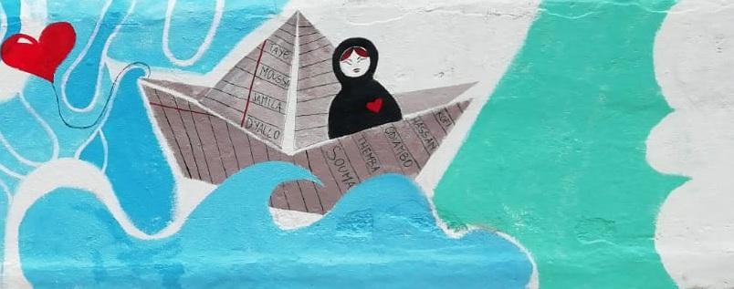 Caserta Solidale murale