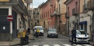 Caserta, Via Giulia senso unico