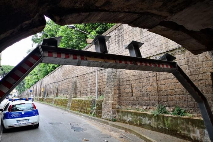 Caserta, ponte di Ercole chiuso al traffico