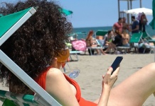 Estate 2020, a Caserta l'app Skiply supera la prova in spiaggia