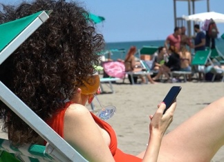 Estate 2020, a Caserta l'app Skiply supera la prova in spiaggia