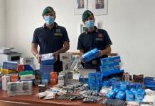 Guardia di Finanza di Caserta: vendita non autorizzata di filtri e cartine. Maxi sequestro per 4 commercianti cinesi