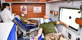 I Militari della Scuola di Commissariato di Maddaloni donano il sangue per il Cardarelli di Napoli