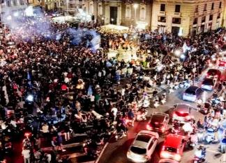 Il Napoli conquista la Coppa Italia, irresponsabilità della tifoseria