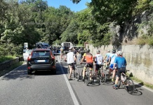 Incidente ciclisti Caserta