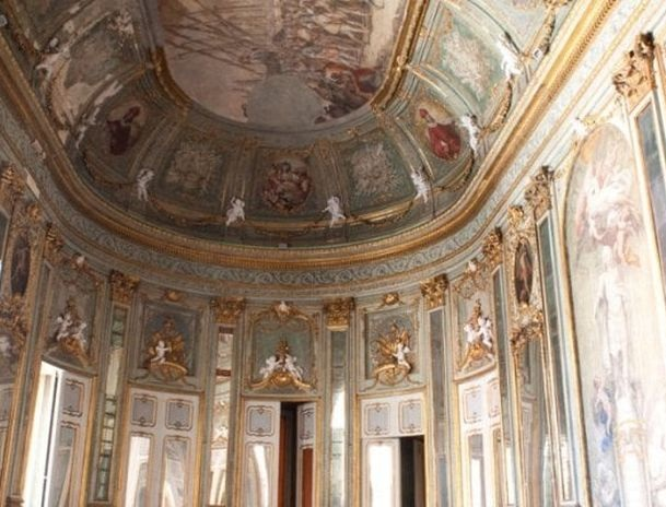 Palazzo Doria d'Angri - Interno