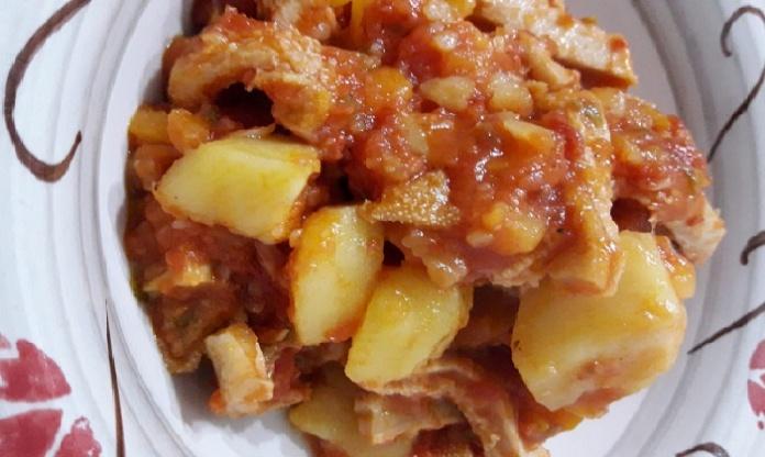 Trippa e patate