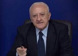 Vincenzo De Luca Regione Campania