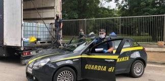 Guardia di Finanza Caserta: sequestrate 24 tonnellate di gasolio di contrabbando