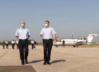 Aeronautica Militare, il Comandante della Squadra Aerea in visita al 9° Stormo