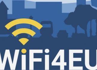 A Caserta il Wi-Fi è libero e gratuito. Nelle piazze Vanvitelli, Ruggiero, Dante e Gramsci è attivo il Progetto WIFI4EU