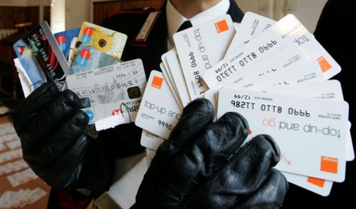 Carte di credito rubate