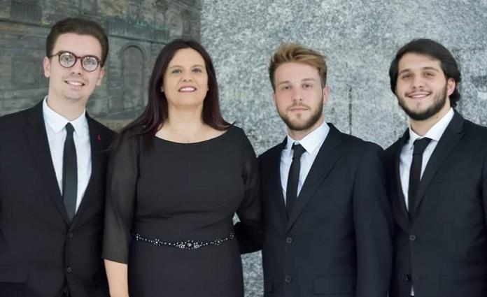 Il soprano Teresa Sparaco per il Tributo ad Ennio Morricone, cittadino onorario di Caserta