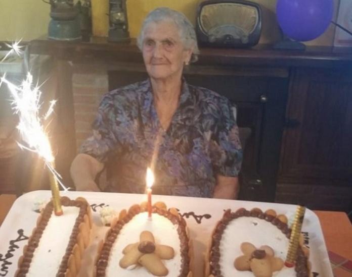 Zi Nannina compie 100 anni