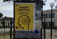 """""""Scegli la bici"""" a Marcianise: i manifesti della Fiab-Marcianise in bici invadono la città"""