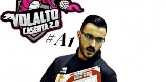 La Volalto 2.0 Caserta punta sui giovani anche per lo staff tecnico: Enrico Quarta allenatore in seconda