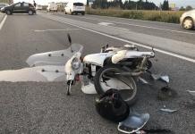 Scontro tra uno scooter e un veicolo sulla Variante di Caserta: giovane in ospedale con lesioni alla gamba