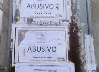 Santa Maria C.V: multe da 50 euro per ogni manifesto funebre affisso fuori dagli spazi consentiti