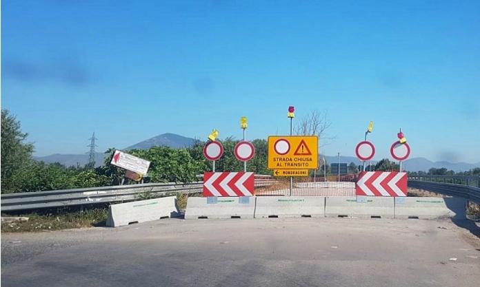 Ponti chiusi sul Volturno, S.O.S di Coldiretti Caserta alla Provincia: