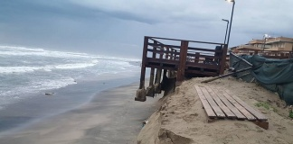 Erosione spiagge