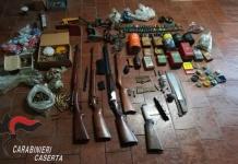 I Carabinieri rinvengono un vero arsenale nell'abitazione di un 81enne