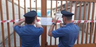 Officina meccanica abusiva sequestrata dai Carabinieri per illeciti ambientali
