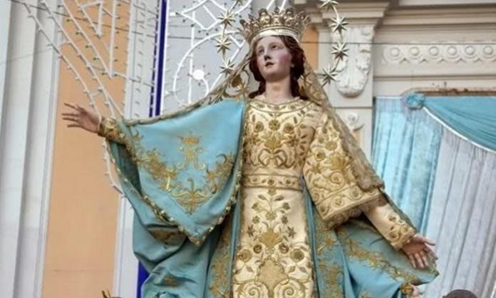 Preghiera poetica alla Madonna e la Festa dell'Assunta di Santa Maria Capua Vetere