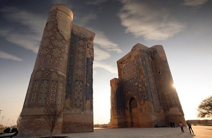 Ak-Saray Palace - Shahrisabz, Uzbekistan