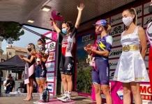 Giro Rosa, Lotte Kopecky vince la settima tappa dedicata a don Salvatore d'Angelo